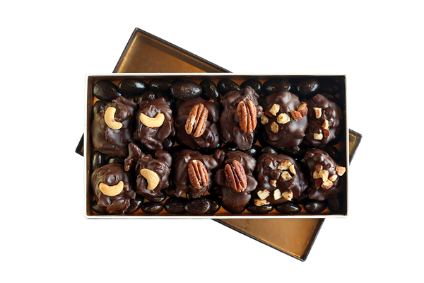 Oh for the Love of Nuts! Dark Chocolate Belgian Box
