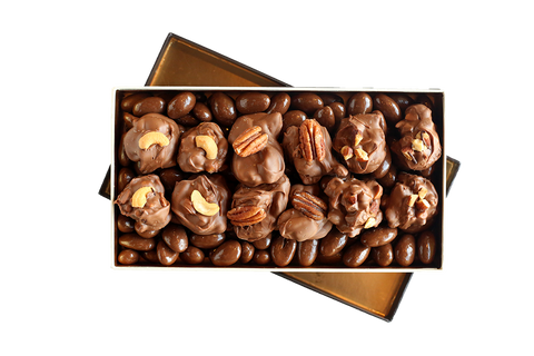 Oh for the Love of Nuts! Milk Chocolate Belgian Box