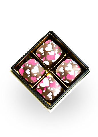 Poetic Hearts Caramels (Milk Chocolate)