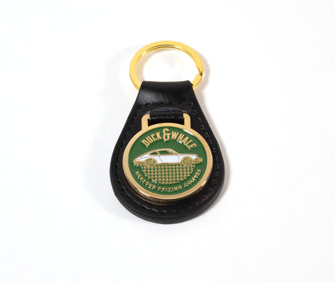 Gold Keyring - Duck & Whale Porsche Driving Culture