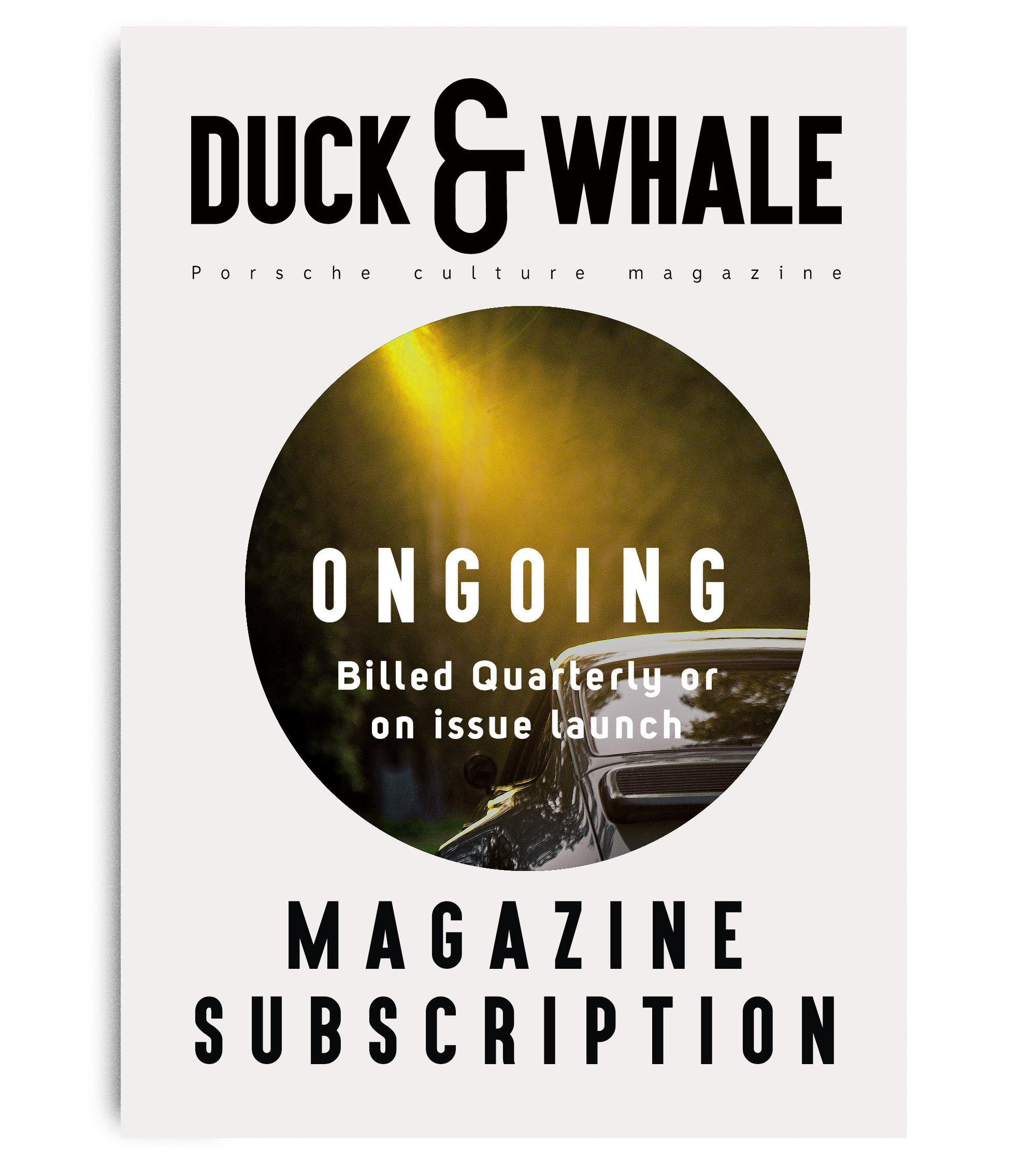 Duck & Whale Subscription - Ongoing Billed Quarterly