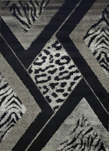 Cutloop polyester shaggy rug. Made in Turkey
