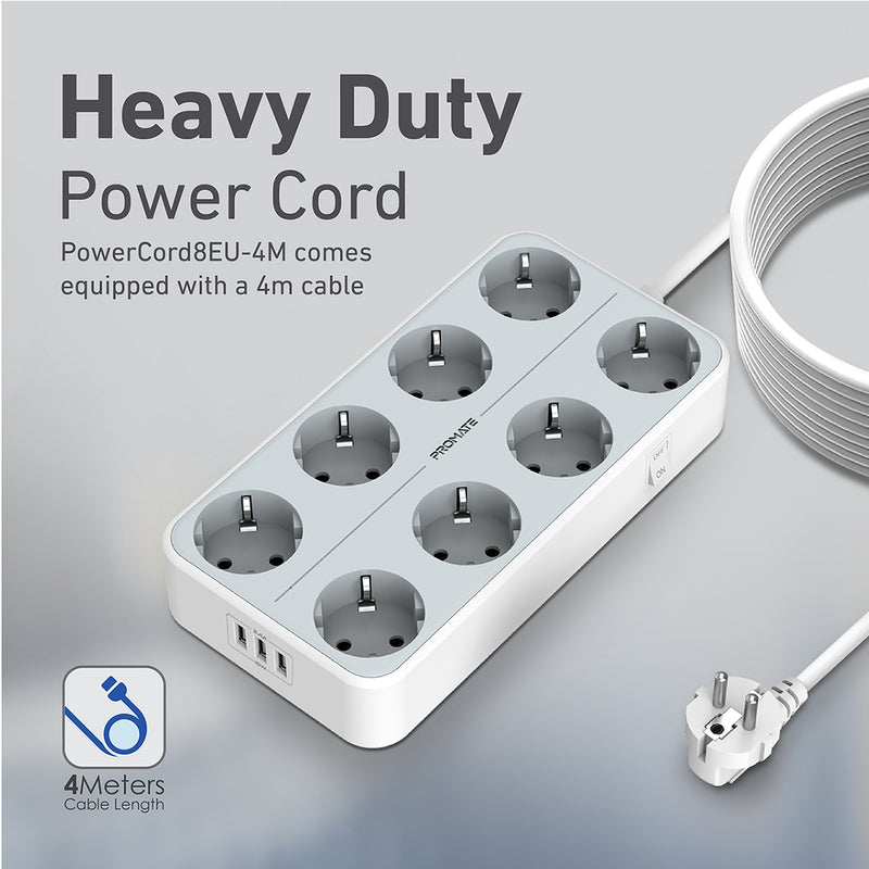 PowerCord8EU-4M