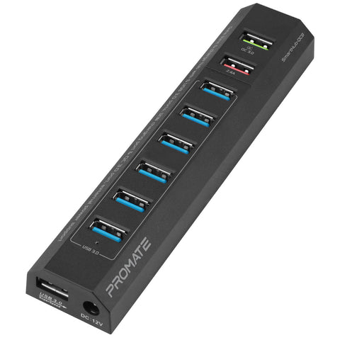 Superspeed USB 3.0 Data Transfer and Charging Powered Hub