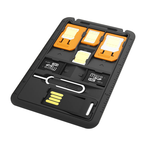 Multi-Function 8-in-1 SIM Card Holder