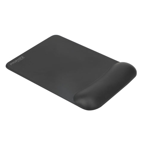 Comfort Glide Mouse Pad with Memory Foam Wrist Support