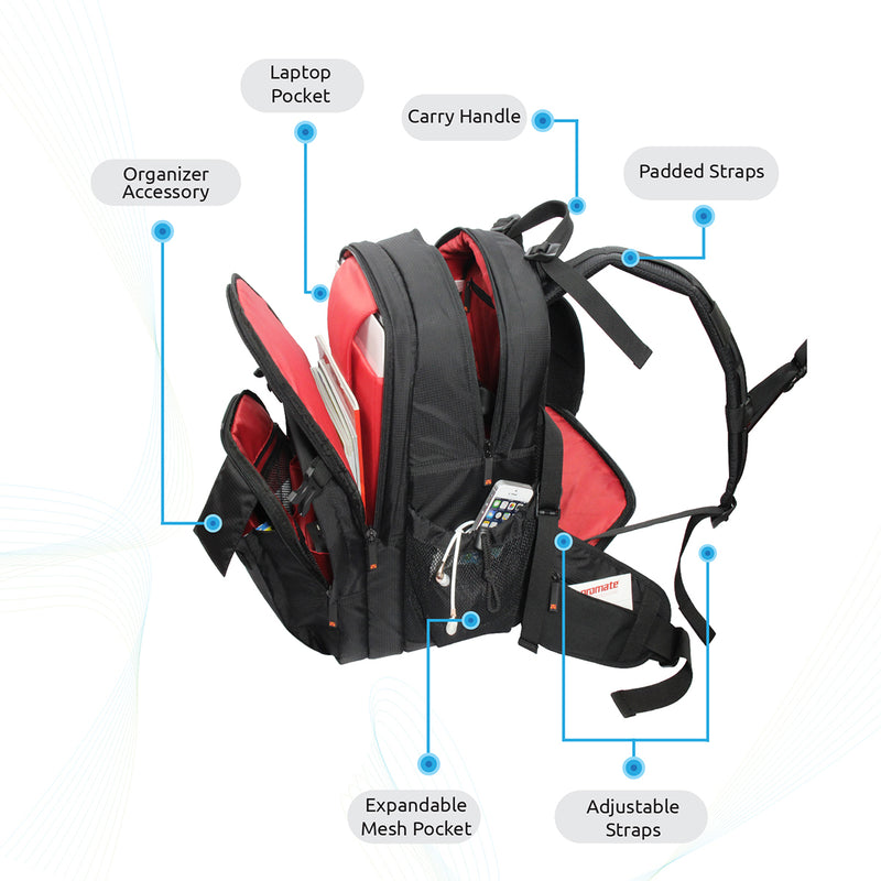 Professional SLR, DSLR Camera and Laptop Backpack