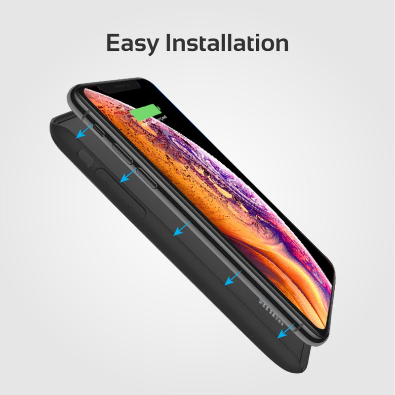3000mAh Wireless Charging Power Case for iPhone X