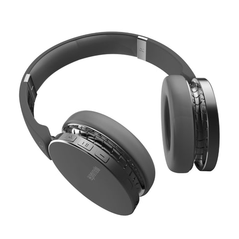 Dynamic Over-Ear Wireless Stereo Headset with Built-In Music Controls