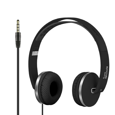 Dynamic On-Ear Stereo Headset with Hi-Fi Sound