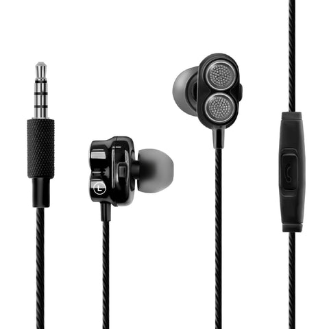 Bass Boost Dual Driver In-Ear Earphones