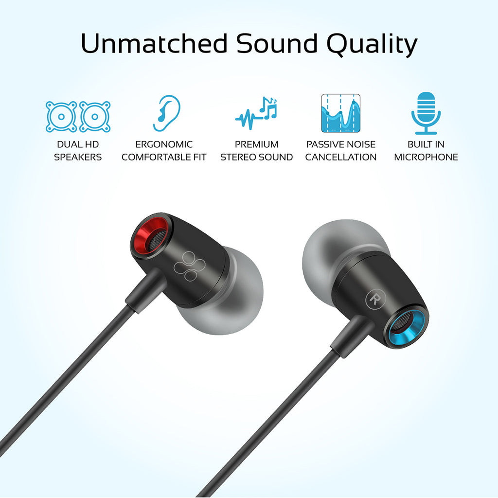 965130b1db6 Dynamic In-Ear Stereo Earphones with In-Line Microphone – Promate  Technologies