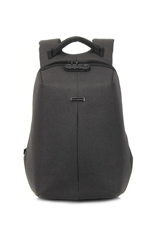 "Anti-Theft Backpack for 16"" Laptop with Integrated USB Charging Port"