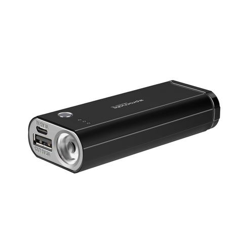 Multi-Function 6000mAh Power Bank with Electronic Lighter and LED Torch