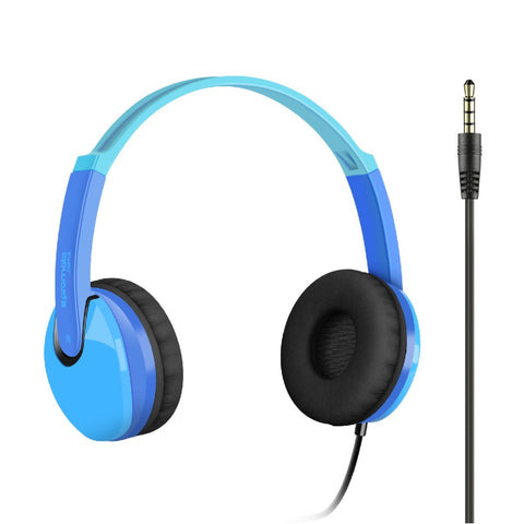 Kiddie Over-the-Ear Wired Stereo Headset with HD Sound
