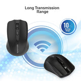 2.4GHz Wireless Ergonomic Optical Mouse