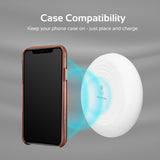 Smart Wireless Charging Pad with LED Light & Anti-Slip Surface
