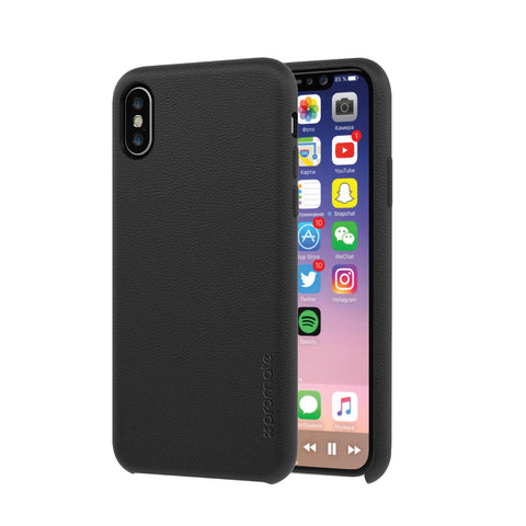 Slim-Fit Shock Absorbent Leather Protective Case