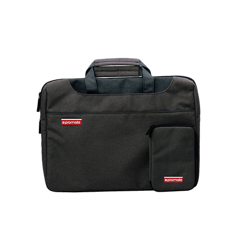 Lightweight Elegant Tote Briefcase Laptop Bag with Detachable Mini Case and Water-Resistance
