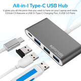 Universal USB 3.1 Type-C Hub with Power Delivery