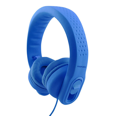 Made For Kids Flex-Foam Wired Stereo Headphone with Adjustable Headband