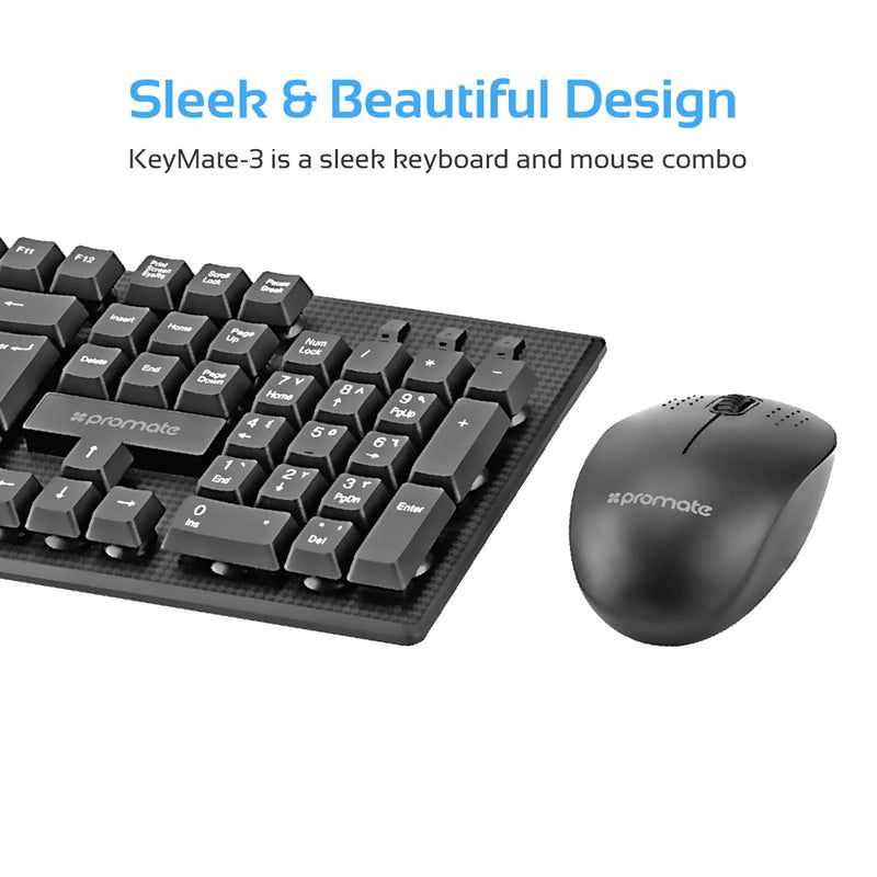 Super-Slim Wireless Keyboard & Mouse Combo