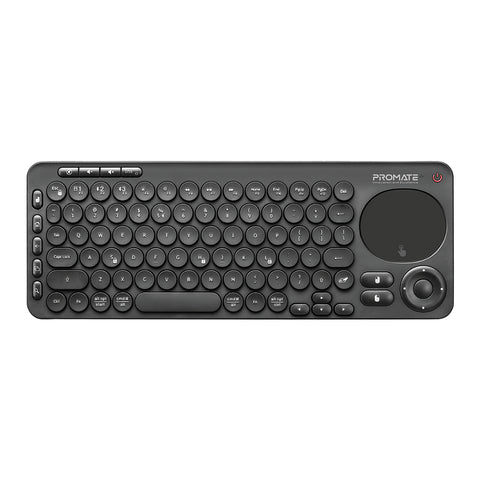 Dual Mode Portable Wireless Multimedia Keyboard with Touchpad