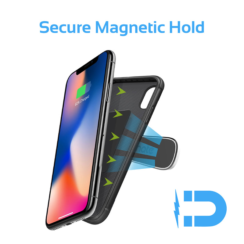Cradle-Free Mini Magnetic Mount for Smartphones & Tablets