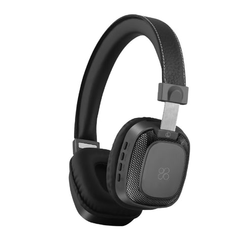 Premium On-Ear Wireless Stereo Headset with Music Playback Controls