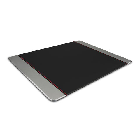 Leather Wrapped Anodized Aluminum Mouse Pad