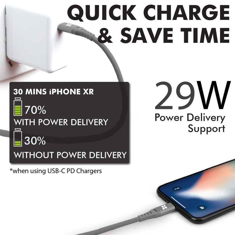 PowerCord Grey