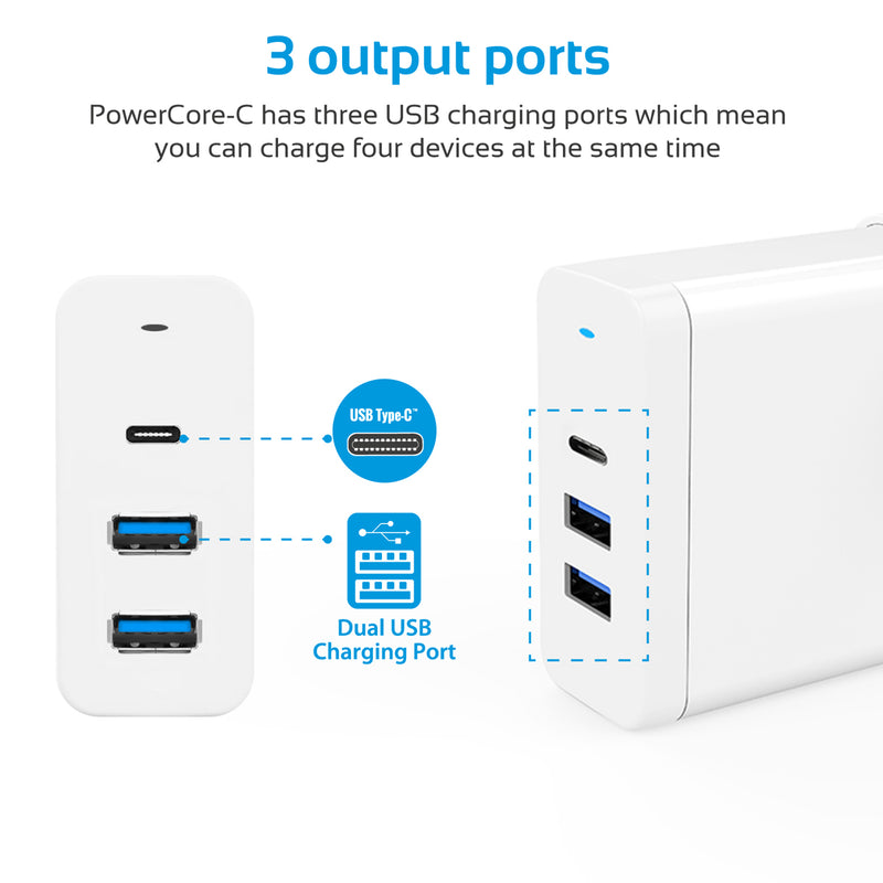 PowerCore-C White