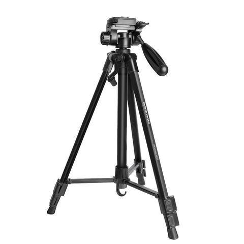 3-Section Aluminum Alloy Tripod with Rapid Adjustment Central Balance