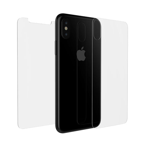 Tempered Glass Screen and Back Protector