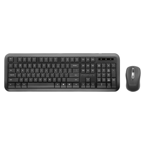 Dual Interface Full Size Wireless Keyboard & Mouse Combo
