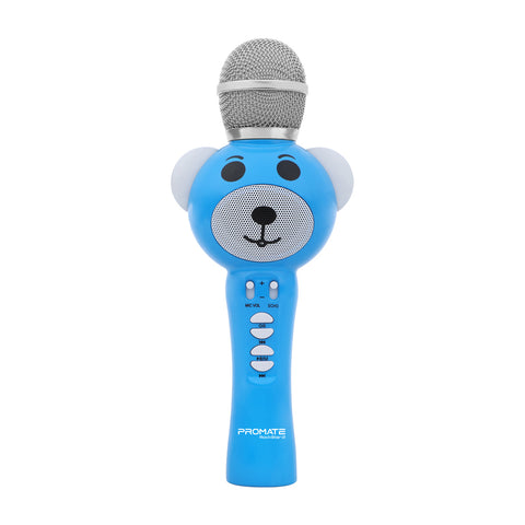 Wireless Karaoke Microphone for Kids with Hi-Definition Speaker