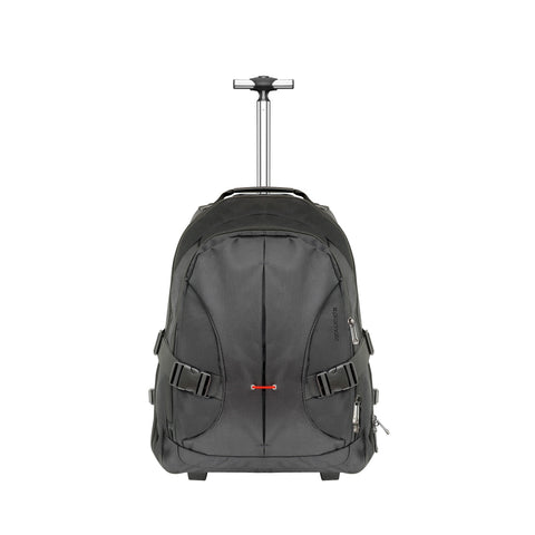 Versatile All-Terrain Trolley Bag with Adjustable Handle for Laptops up to 15.6""