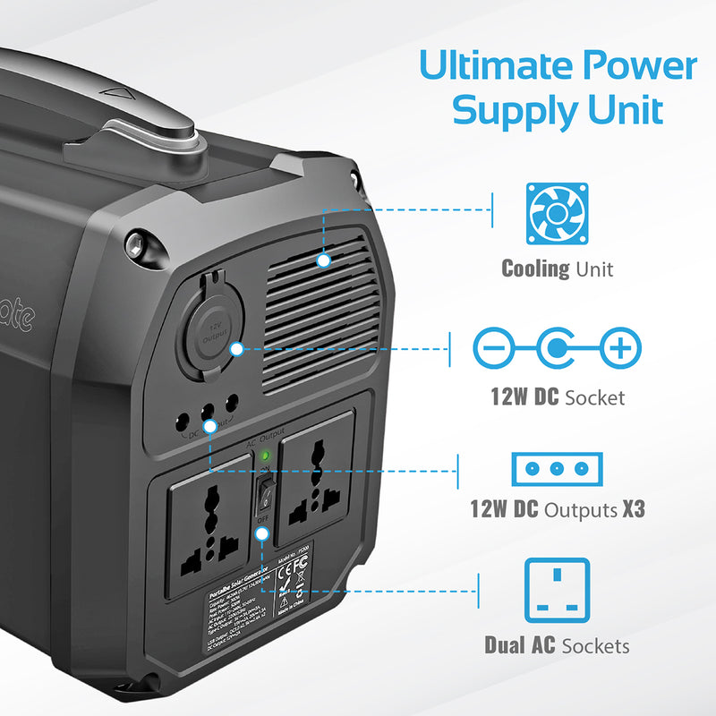300W/41 6Ah All-in-1 High Capacity Portable Power Station