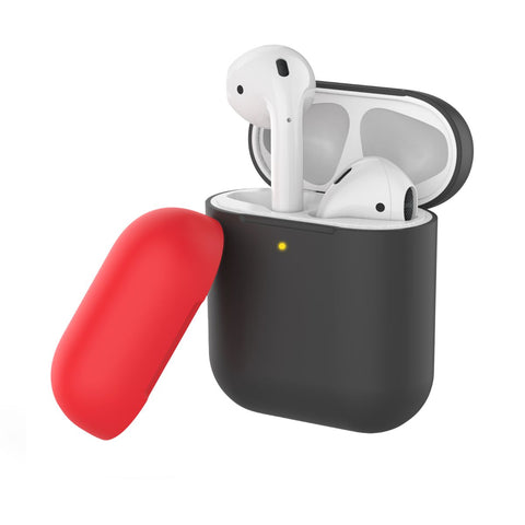 Dual-Toned Multi-Design Protective Case for Airpods