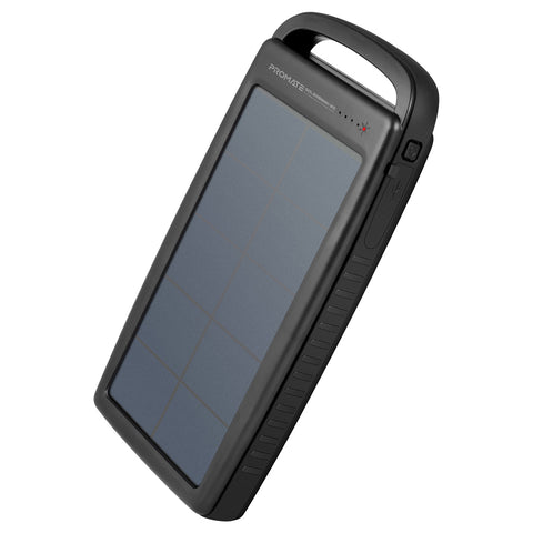 Outdoor Solar Power Bank with Dual USB Port