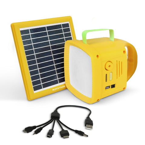 3-in-1 Outdoor Solar LED Camping Kit