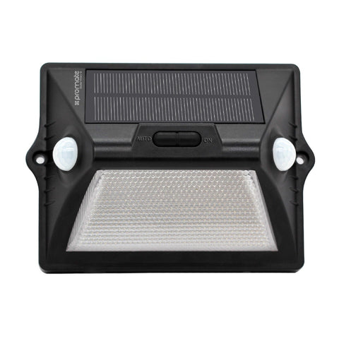 Outdoor Solar Powered LED Light with Dual Motion Activators