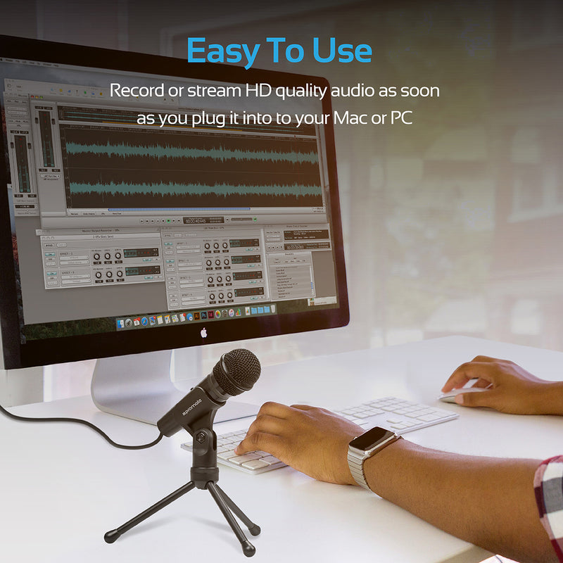 Universal Digital Dynamic Vocal Microphone
