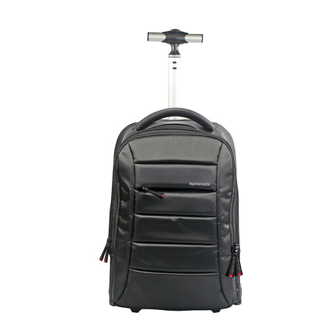 "High Volume Heavy Duty Trolley Bag for Laptops up to 15.6"" with Multiple Storage"
