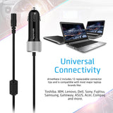 90W Heavy Duty Universal Laptop Car Charger