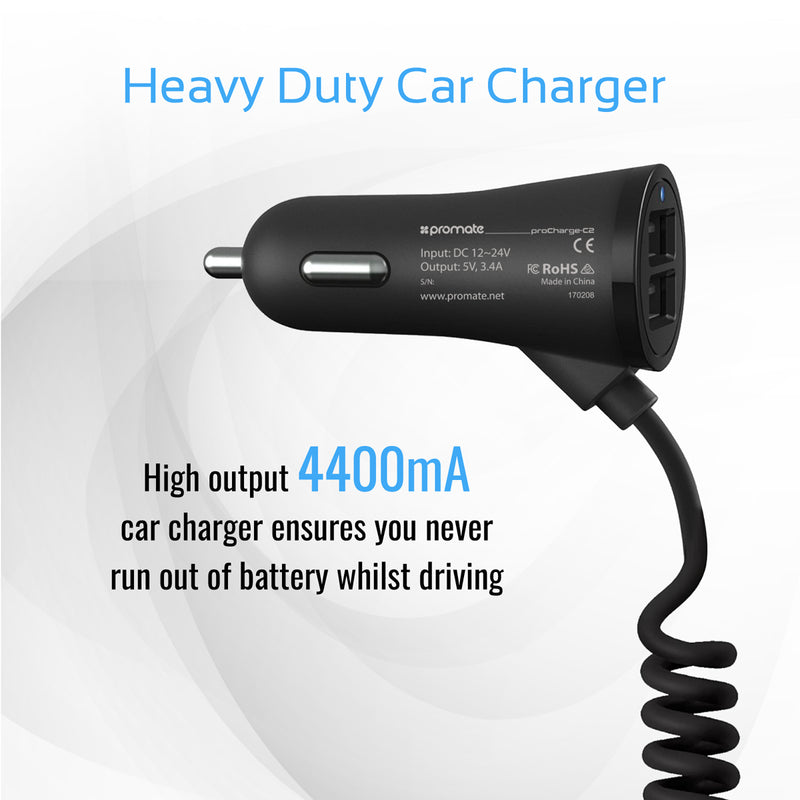 Heavy-Duty USB-C Ultra-Fast Car Charger