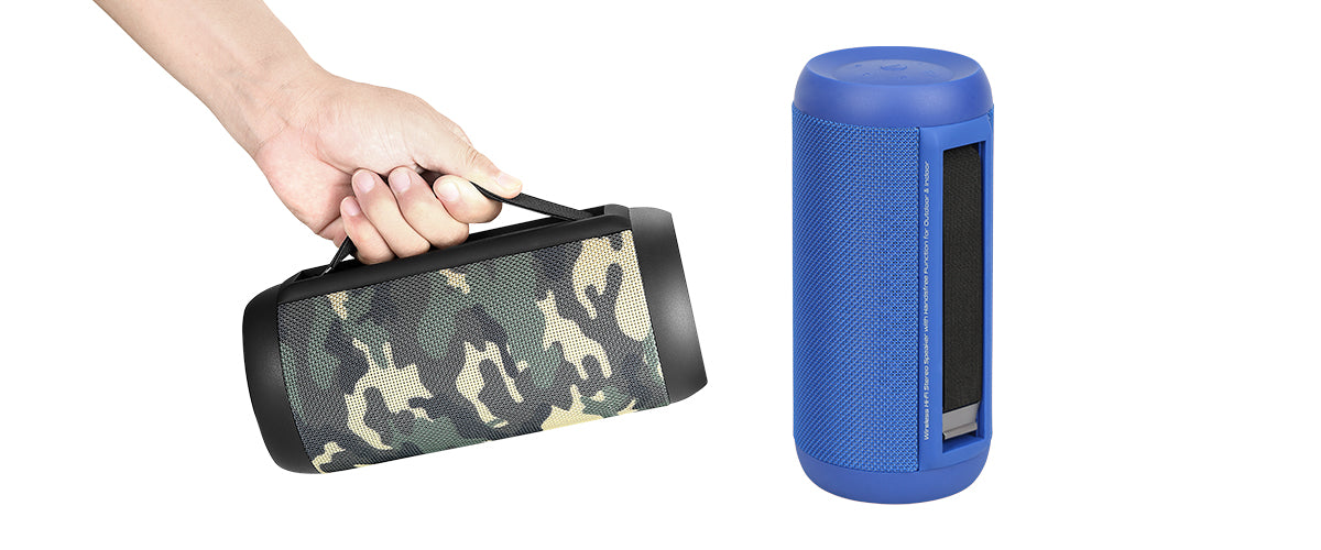 Wireless Hi-Fi Stereo Speaker with Handsfree Function for Outdoor