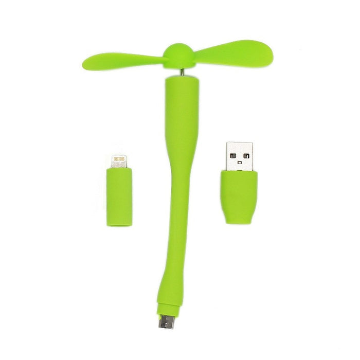 3 in 1 USB fan For iPhone/Android/Laptop