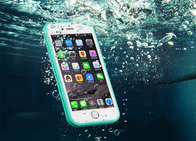"Waterproof Phone Case for iPhone ""6-XR"" "" All Models"""