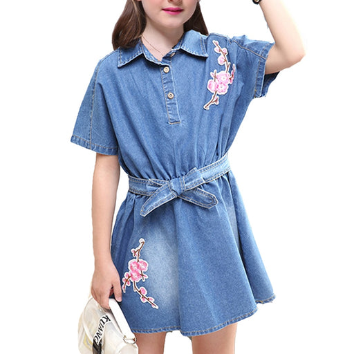 Denim Dress - For Kids
